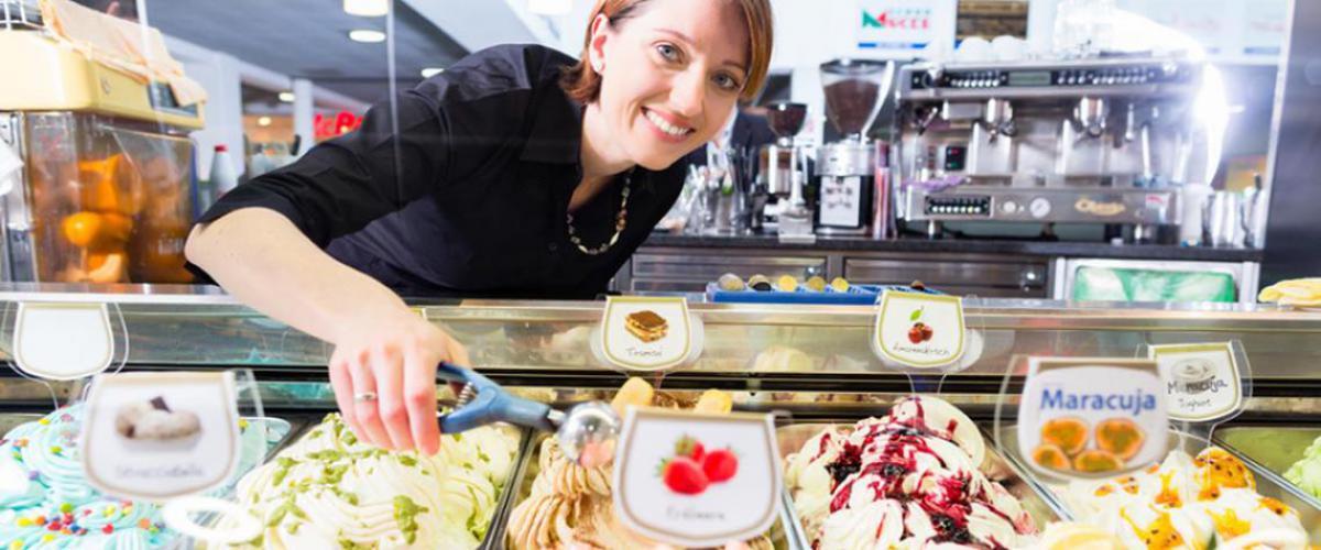 Eis essen in Hagen, Eisdiele, Eissalon
