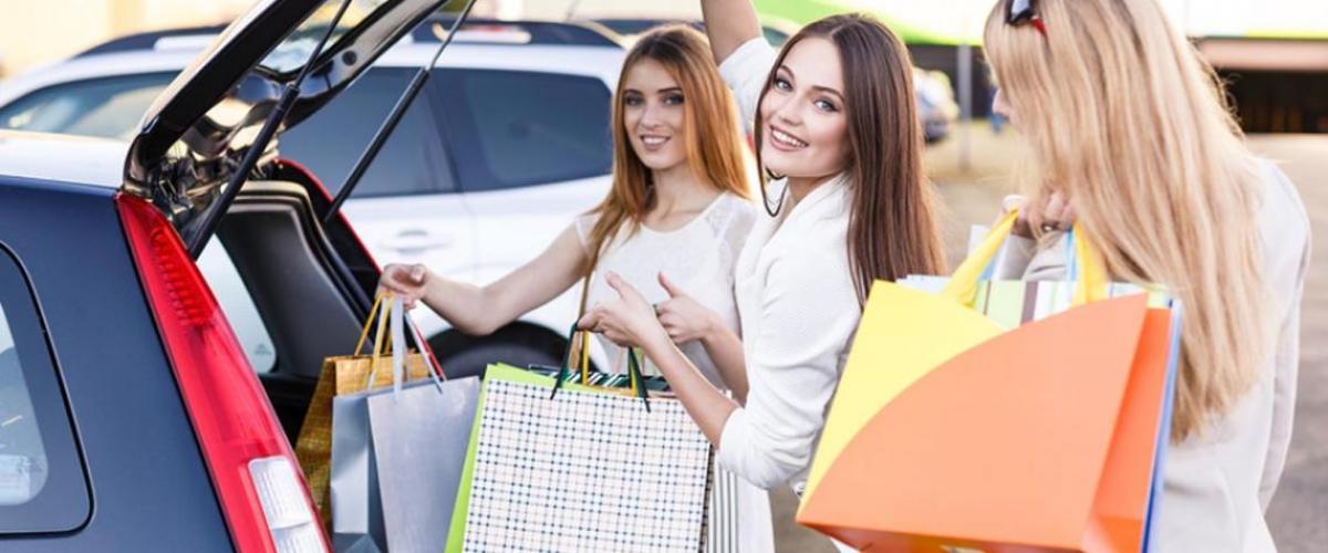 Shopping und Parken in Hagen